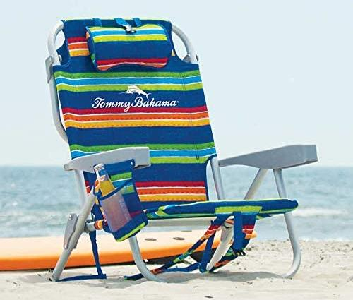 Tommy-Bahama-2020-Backpack-Cooler-Chair-Green-Strips