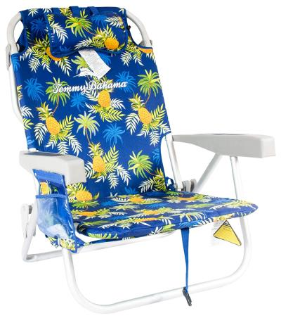 Tommy-Bahama-Backpack-Cooler-Beach-Chairs-Blue-Pineapple