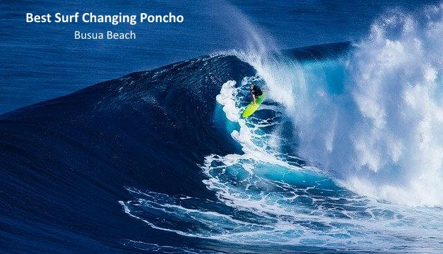 Best Surf Changing Poncho