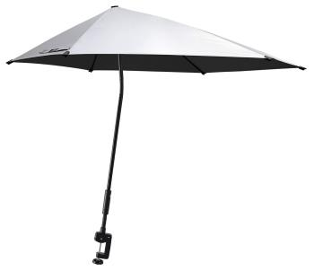 G4Free UPF 50+ Adjustable Beach Umbrella XL with Universal Clamp for Chair