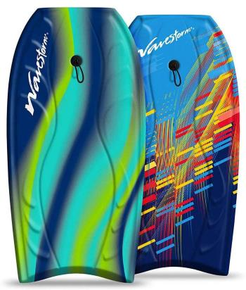 """Wavestorm 40"""" Bodyboard 2-Pack, Blue red and Blue Yellow"""