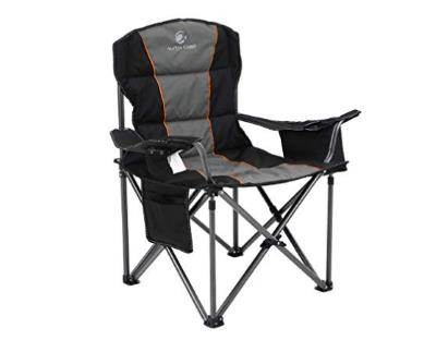 ALPHA CAMP Oversized Folding Chair Heavy Duty Support 450 LBS